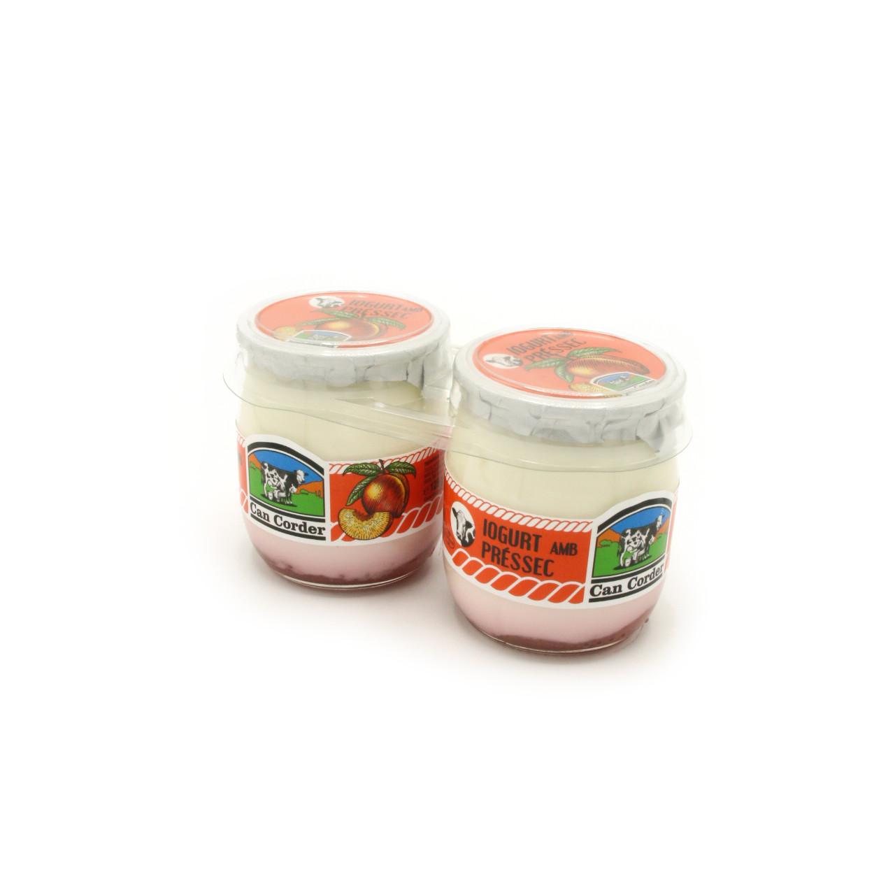 Yogurt con Melocotón