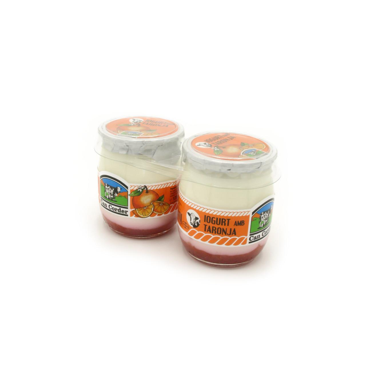 Yogurt con Naranja