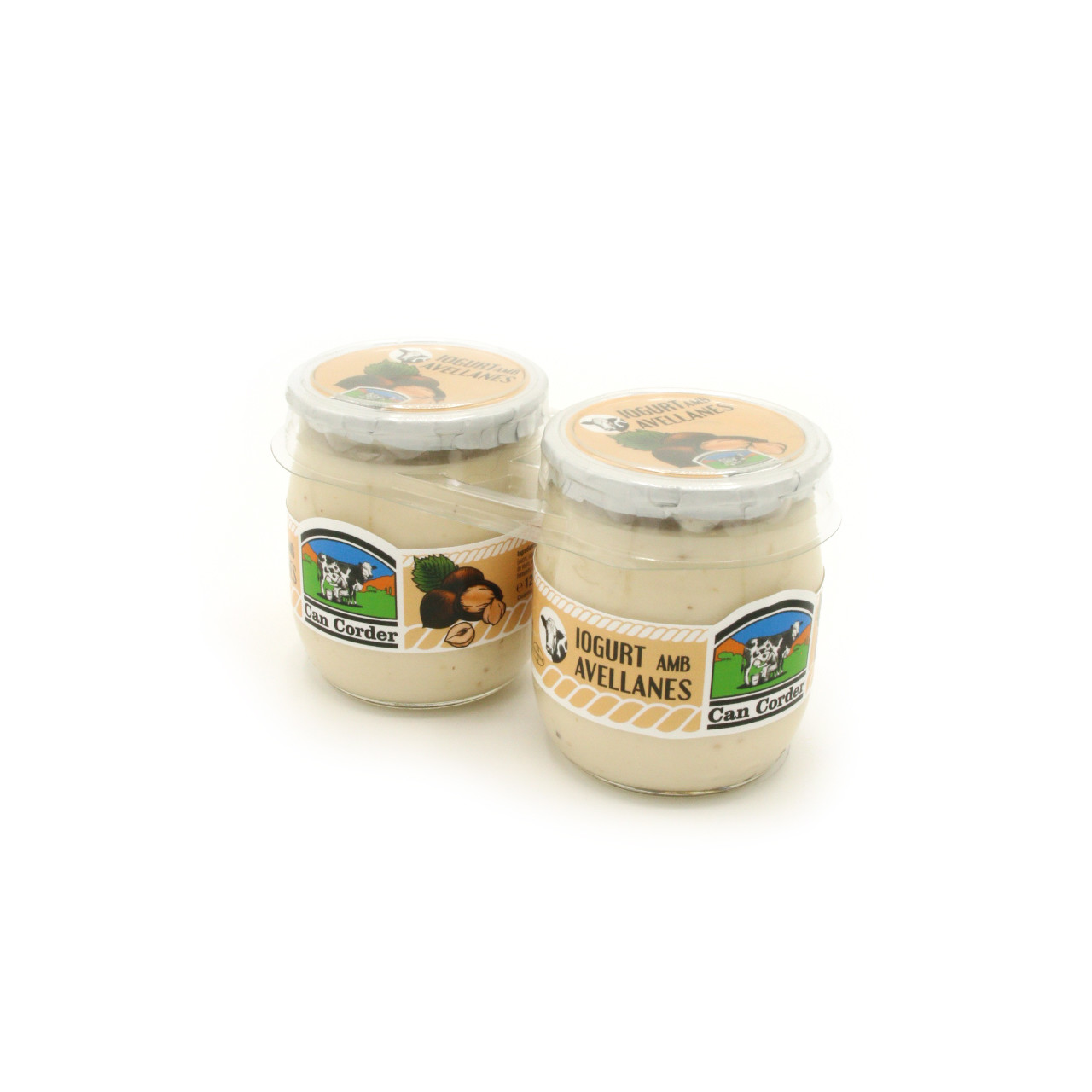 Yogurt con Avellanes