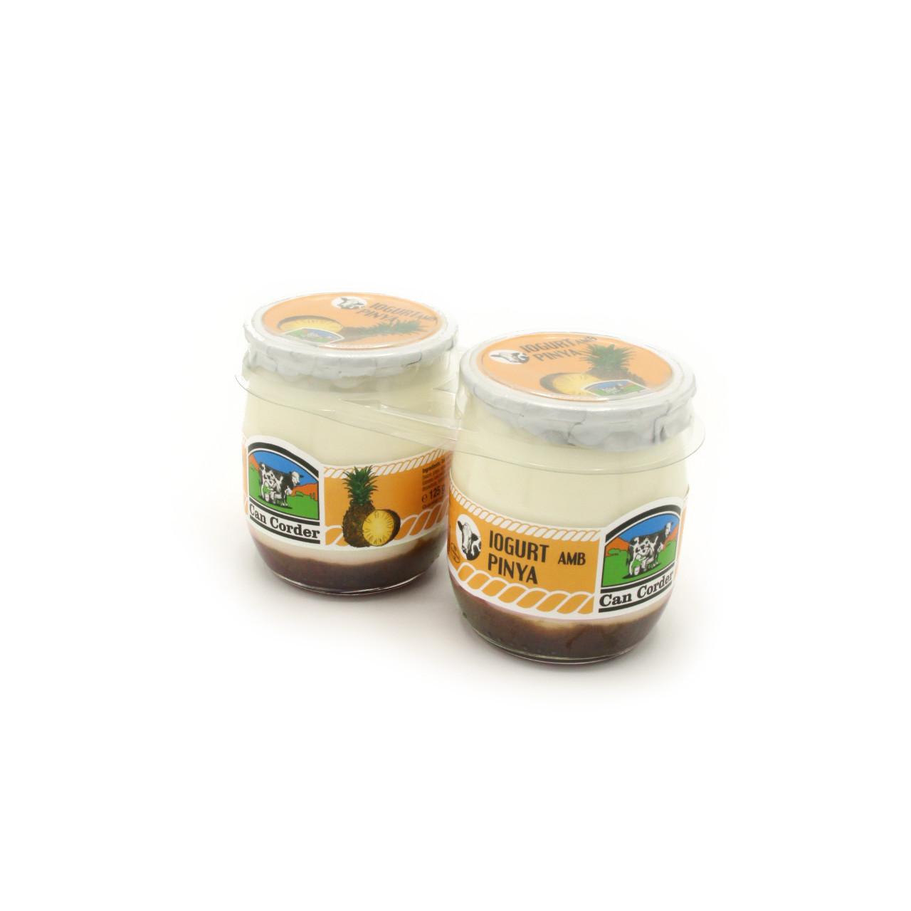 Yogurt con Piña